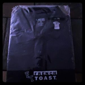Navy Polo Short Sleeve Shirt by French Toast